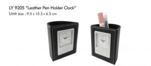 DESK CLOCK, PEN HOLDER, TEMPAT PENSIL, TEMPAT PULPEN, JAM MEJA, JAM MEJA EKSLUSIF, EXCLUSIVE DESK CLOCK PEN HOLDER