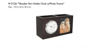 DESK CLOCK, PEN HOLDER, TEMPAT PENSIL, TEMPAT PULPEN, JAM MEJA, JAM MEJA EKSLUSIF, EXCLUSIVE DESK CLOCK PEN HOLDER, WOODEN PEN HOLDER, WOODEN DESK CLOCK